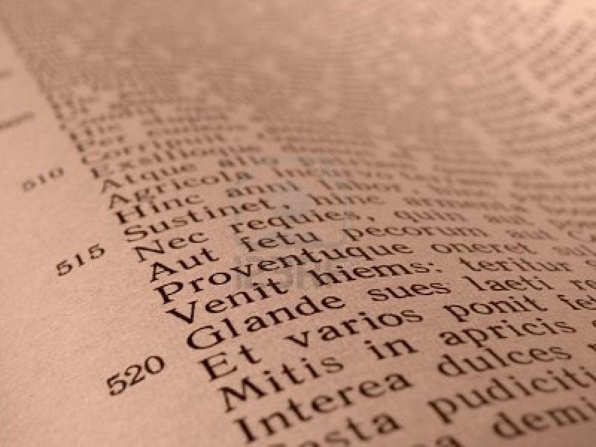 Resultado de imagen de textos latinos